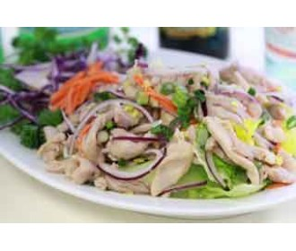 020.  Chicken Lemon Salad