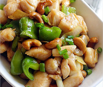 320 Cashew Chicken