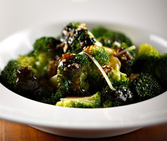 Broccoli and Oyster Sauce
