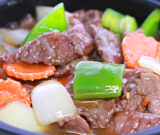 384.  Beef Pepper Steak Angus Certified