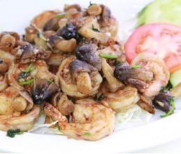 Jumbo Shrimp Garlic Pepper