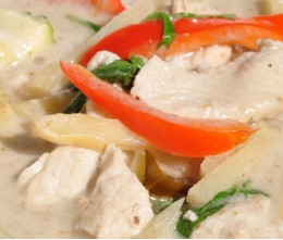 Sweetened Green Curry Chicken