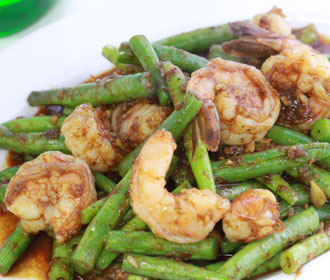 Shrimp and Green Beans