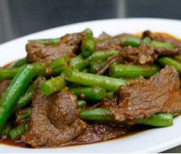 Beef with Green Beans Certified Angus