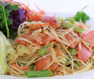 022.  Papaya Salad