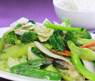Stir Fry Mixed Vegetables