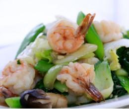 Jumbo Shrimp w/Mixed Vegetables