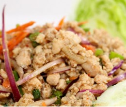 Larb Chicken Salad
