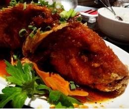 610.  Deep-Fried Whole Catfish