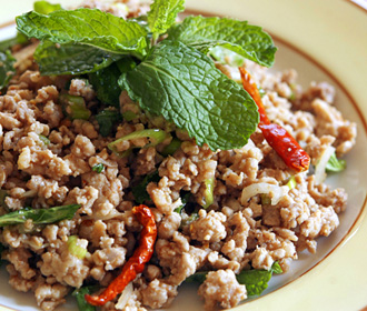 Larb Pork Salad