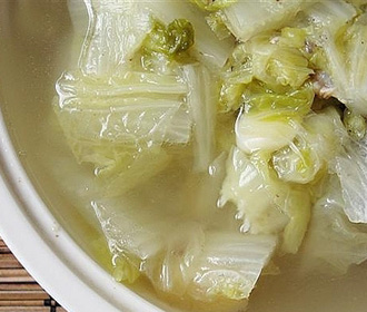 White Cabbage Soup