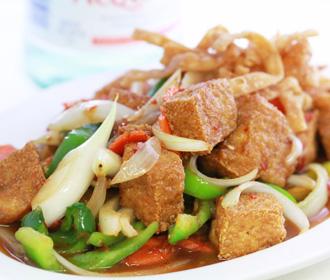 760.  Mongolian Tofu