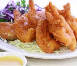 003.  Fried Shrimps Jumbo