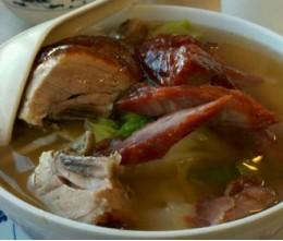 150 BBQ Pork Noodle Soup