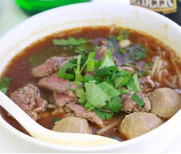 Beef Ball Noodle Soup