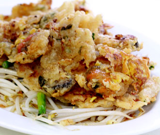 Thai Fried Mussel Meat