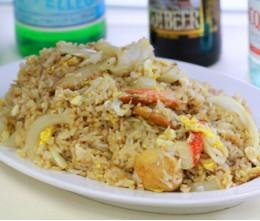 201.  Seafood Fried Rice