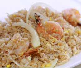 202 Fried Rice with Jumbo Shrimp