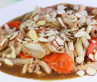 330 Almond Chicken