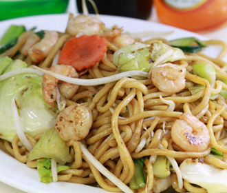 167.  Shrimp Chow Mein