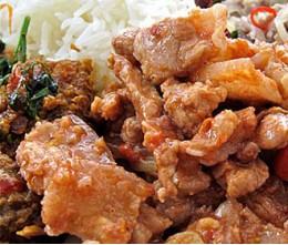 Pork Garlic Pepper Sauce o/Rice