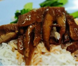 Roast Duck over Rice