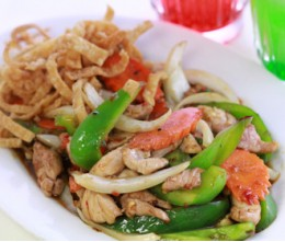 302.  Mongolian Chicken