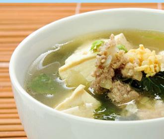 Seafood Tofu Soup