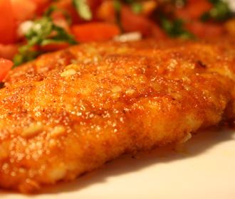 Fish Fillet Garlic Pepper