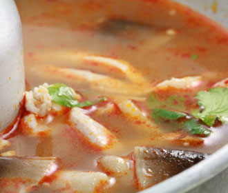 Tom Yum Chicken Soup