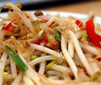 Bean Sprouts and Salted Fish