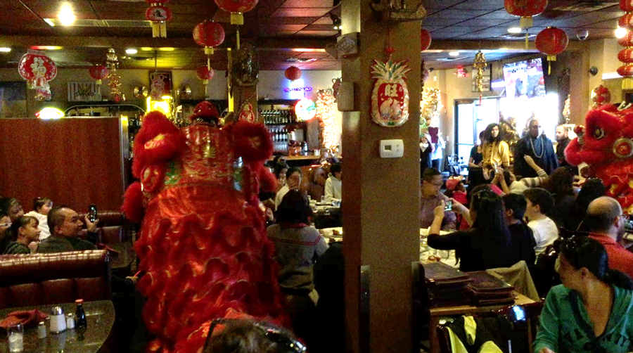 Chinese New Year Celebration at Kung Fu Plaza Restaurant