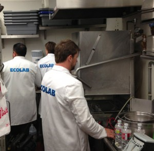 Best restaurant in Las Vegas kitchen lab coats