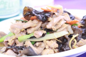 Black Fungus Ginger Chicken