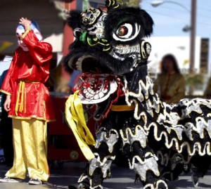 Chinese New Year in Las Vegas Chinatown