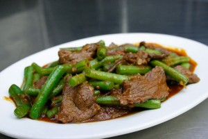 Certified Angus Beef Green Beasn Kung Fu Thai Restaurant