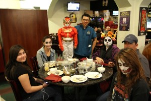 Halloween dining in Las Vegas thai chinese restaurant