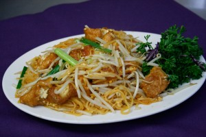 Pad Thai Tofu at Kung Fu Restaurant