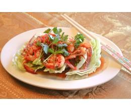 028.  Spicy Shrimp Salad - พล่า กุ้ง