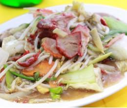 358 BBQ Pork Chop Suey