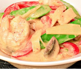 534.  Pa-Nang Shrimp Curry