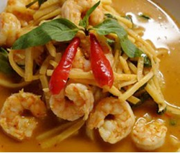 Shrimp with Bamboo Shoots