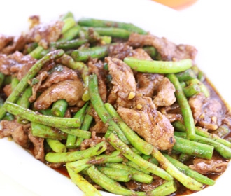 569. Pork with Green Beans