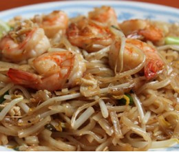 Bean Sprouts and Jumbo Shrimp