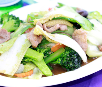 Pork with Mixed Vegetables
