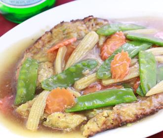 742. Vegetarian Egg Fu Yung