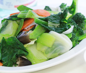 780. Steamed Mixed Vegetables