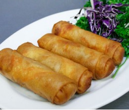 010.  Egg Rolls ( Four pieces )