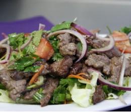 026. Thai Certified Angus Beef Salad - ยำ เนื้อ