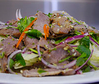 027.  Smoked Pork Salad